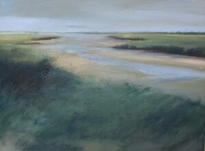 Crossing the Dunes | 30x40 | Oil on Canvas | C.J. Kendrick