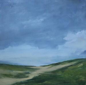 Dune Pathway | 36x36 | Oil on Canvas | C.J. Kendrick