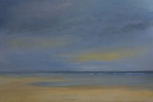 """Floating on Silence 48"""" x 72"""" 