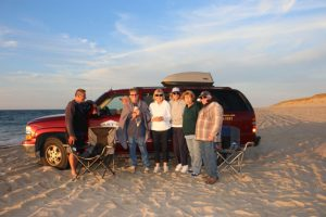 Arts Dune Tours meet Artist in Residence C.J. Kendrick Cape Cod June 2016