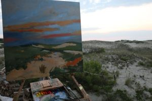 Early light and plein air painting begining by CJK