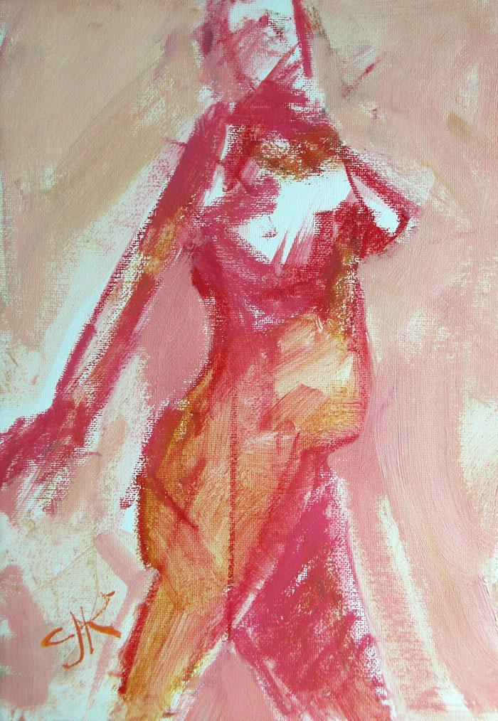 Free Form | 9 x 12 | Oil Sketch