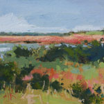 marsh, intercoastal, Painting