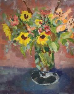 Bouquet | 8 x 10 | Oil