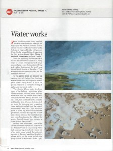 american art collector magazine | March 2015 | issue 113 | page 122