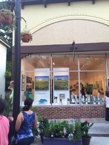 Plum Art Gallery - exhibiting landscape paintings by CJK
