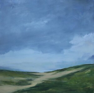 Dune Pathway | 36x36 | Oil on Canvas | C.J. Kendrick