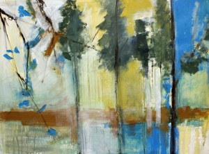 Yellow Silence | 36x48 | Oil | Karlene McConnell
