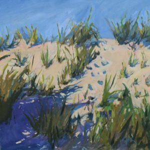 Dune Grass | 30x30 | Oil on Board | CJK