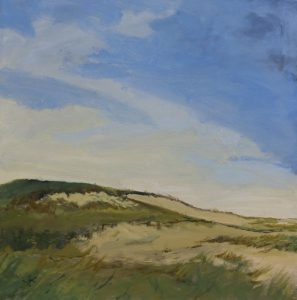 Provincetown Dunes | 30x30 | Oil on Board | CJK