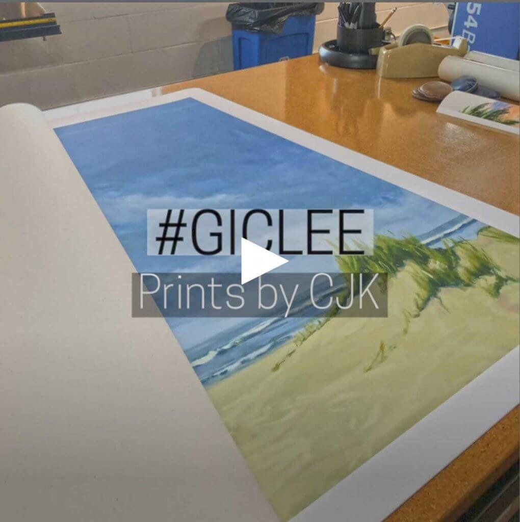 Giclee Prints by Artist CJK